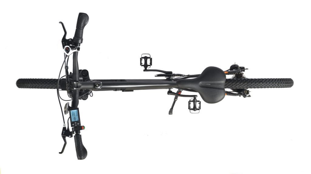 EGnite electric cycle top view