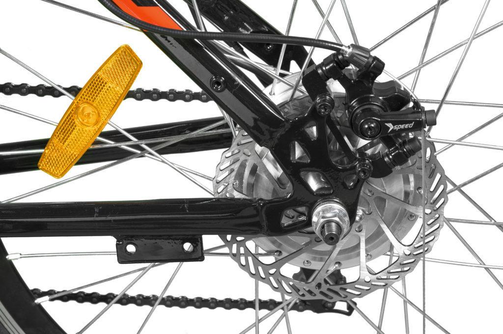 ETron+ electric bicycle Front disk brake